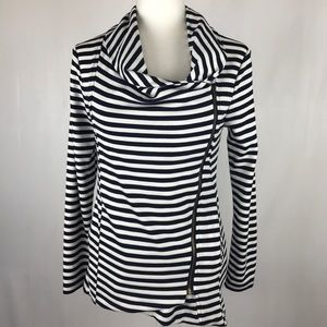NWOT My Beloved Brand Zippered Shirt